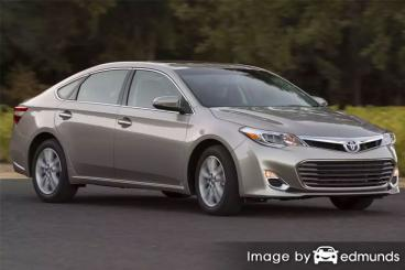 Insurance rates Toyota Avalon in Jersey City