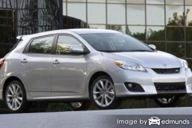 Discount Toyota Matrix insurance