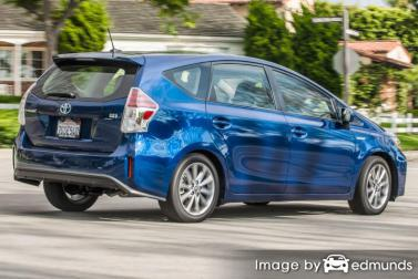 Insurance quote for Toyota Prius V in Jersey City